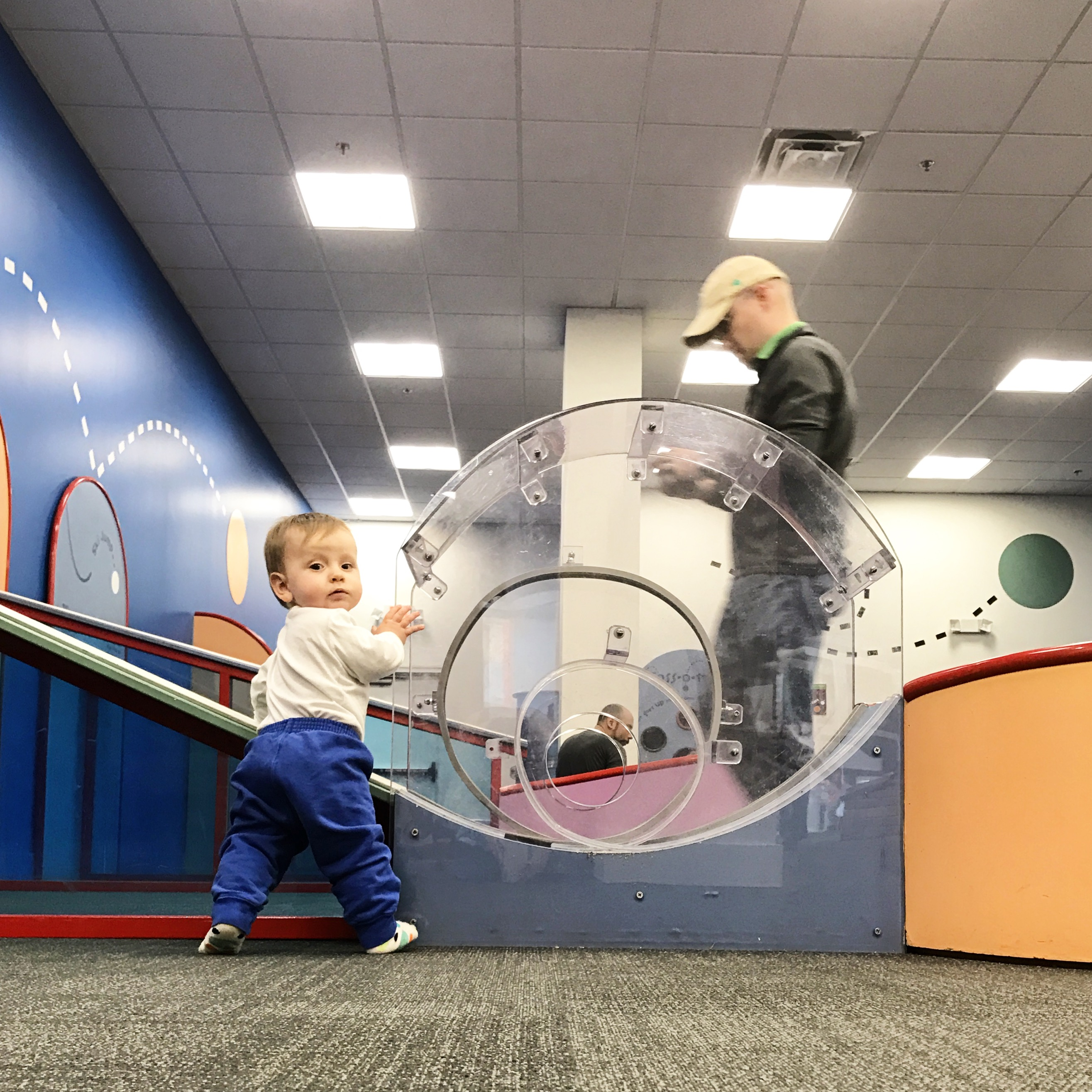 Sprouts interactive display at Minnesota Children's Museum