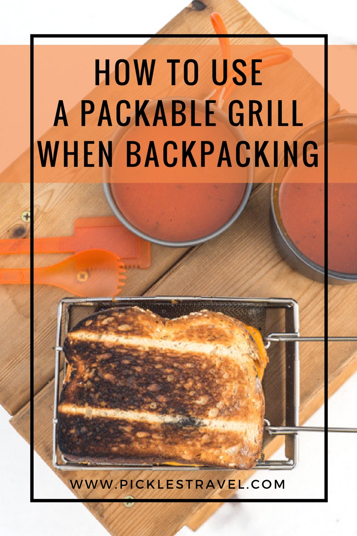 When planning a back country packing trip or a thru-hike like the Appalachian Trail it's important to keep weight low so using a small, light weight grill is key. Here's how to use one to your advantage while hiking the trail and cooking your campfire meals.