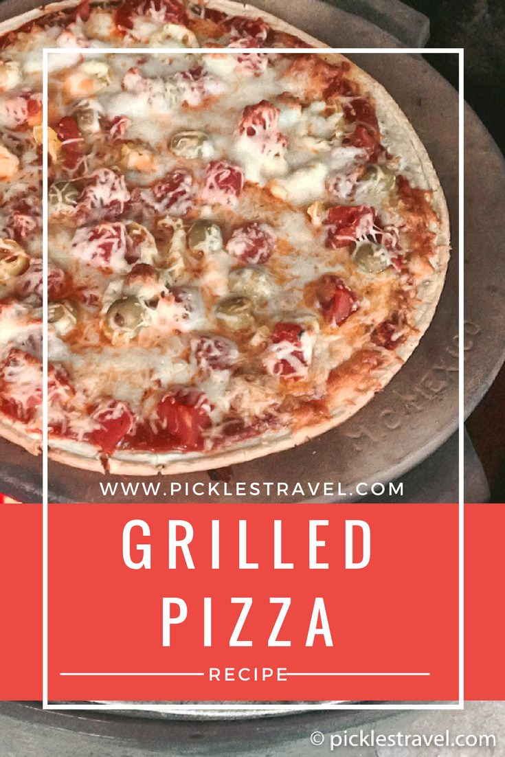 Grill Pizza is an easy recipe that is easy to make on the grill. A fun activity for the kids to add toppings. Make margherita or pepperoni pizza or whatever ideas the kids prefer