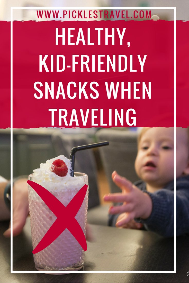 Eat these healthy snacks when traveling instead of grabbing sweets along the way