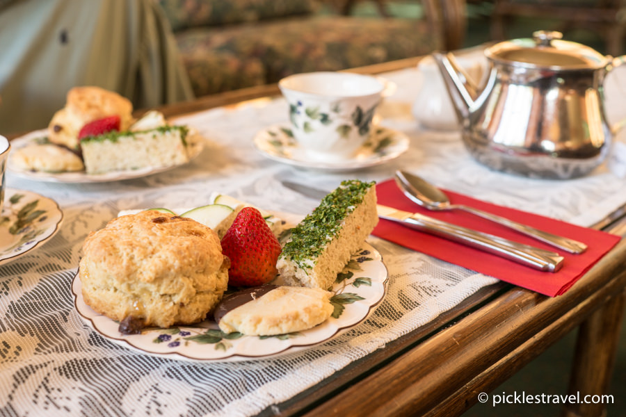 High Tea at Naniboujou Lodge