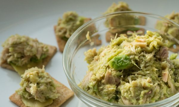 Canned Tuna Fish Avocado Appetizers