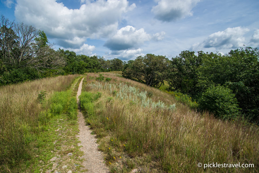 Hiking Trails at Sibley State Park in Minnesota