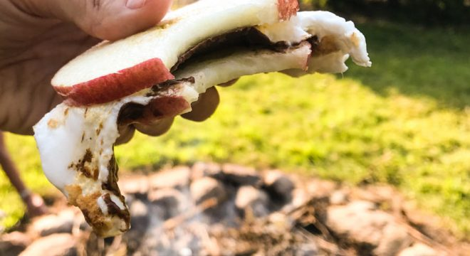 Taking a bite out of the Apple S'more recipe