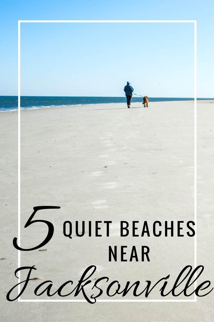 Beach travel tips for great destinations near Jacksonville, Florida if you're looking for a nice quiet place to escape the winter weather and relax