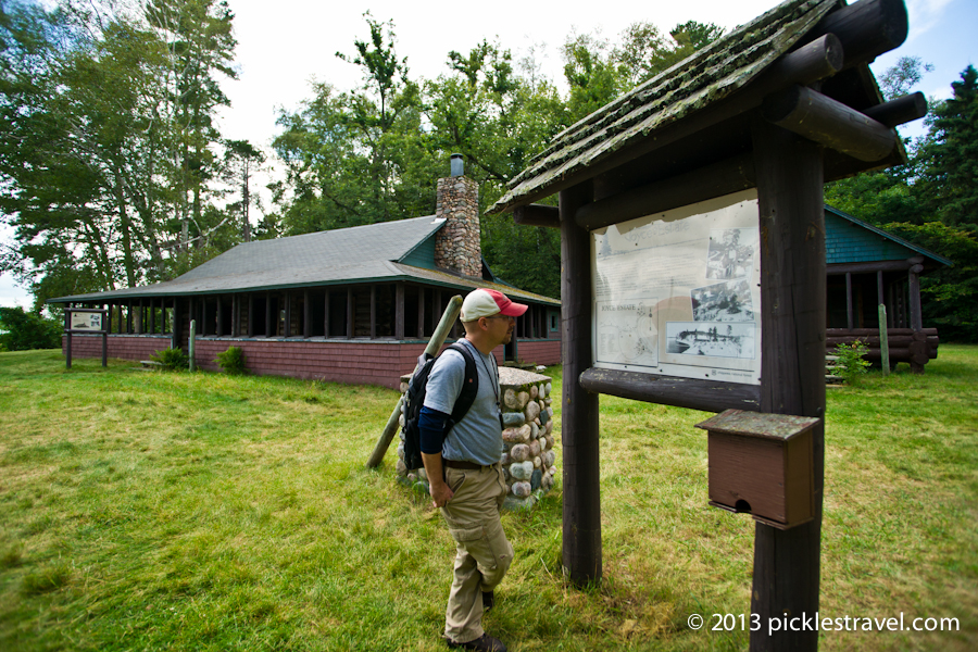 Exploring the Main Lodge and Joyce Cabin