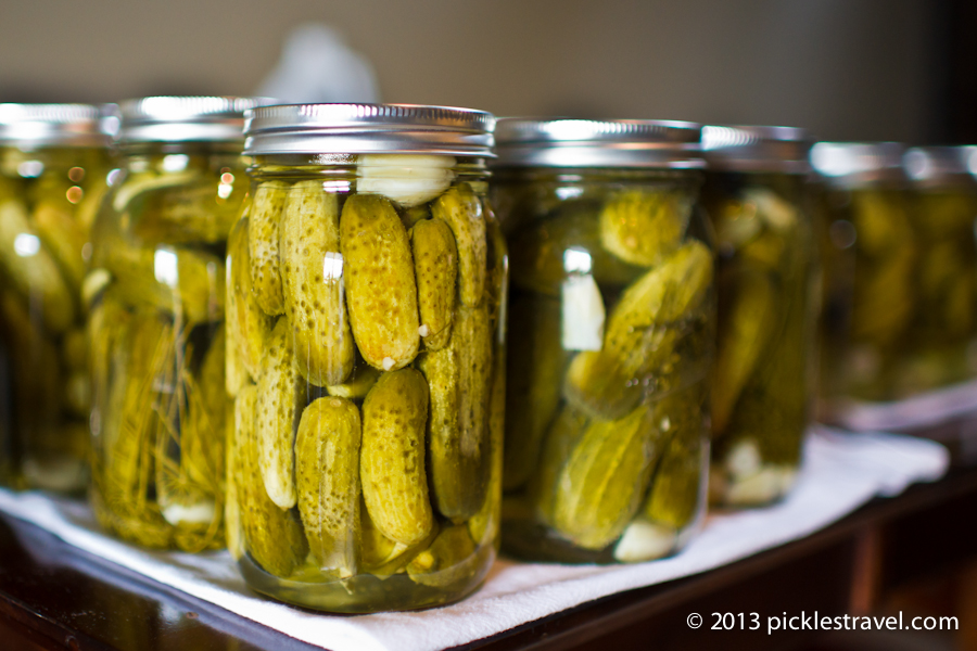 Canning Pickles