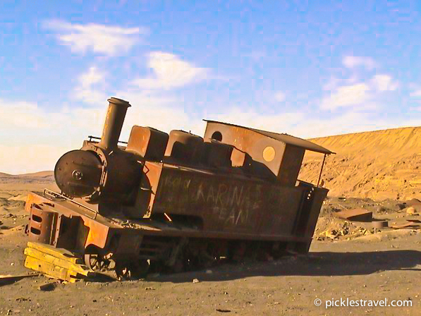ghost town photo essay  humberstone  chile