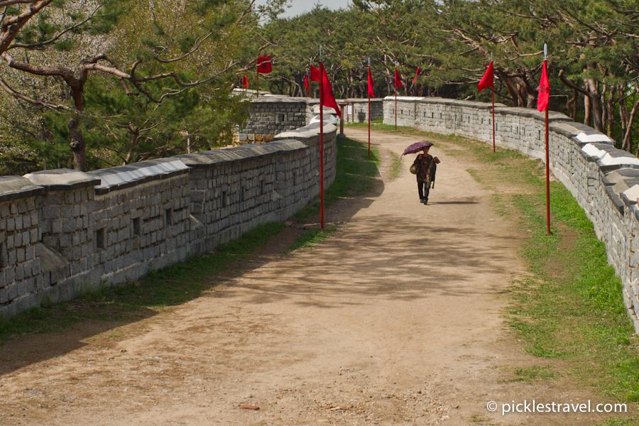 Walking the Korean Great Wall
