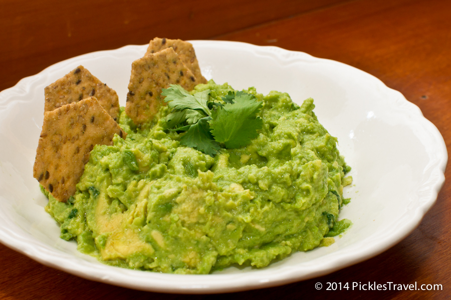 Guac and Gluten Free Snacking
