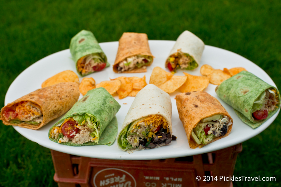 5 delicious variations on the simple chicken wrap