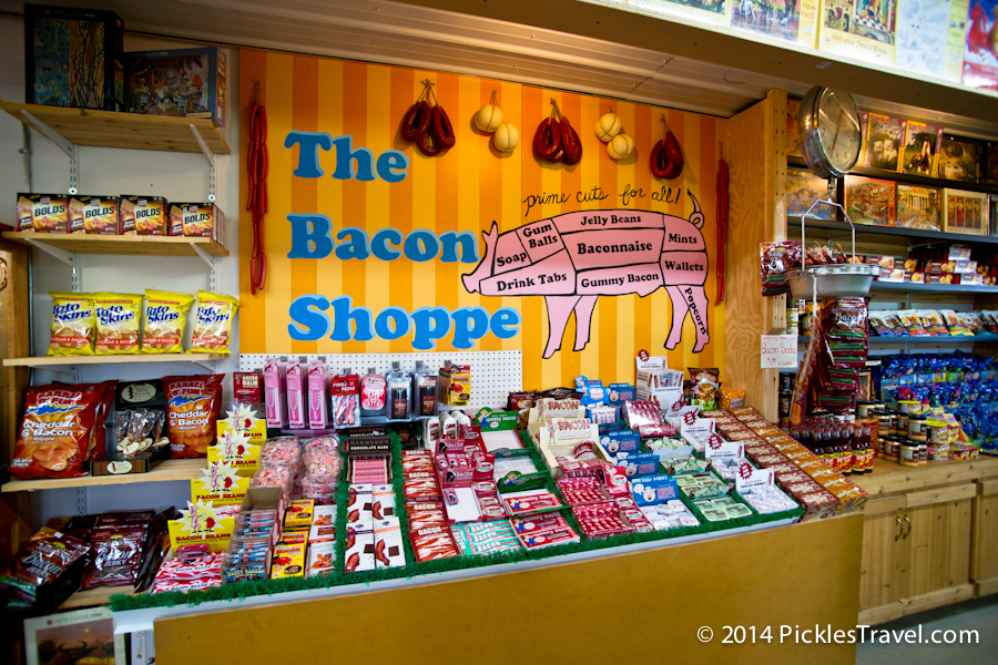 The Bacon Shoppe at the Big Yellow Barn in Jordan