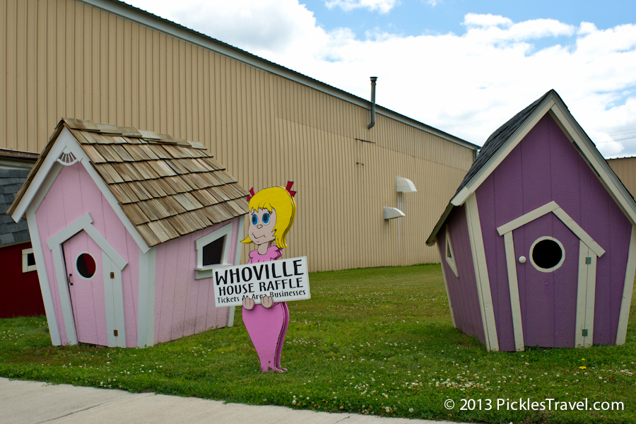 Whosville houses up for raffle