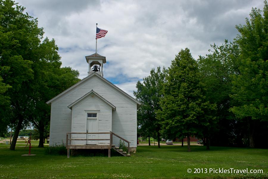 preserved school house