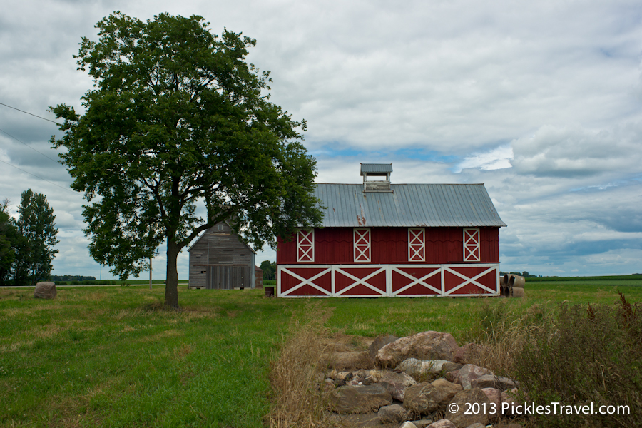 Barn country in rural southern MN