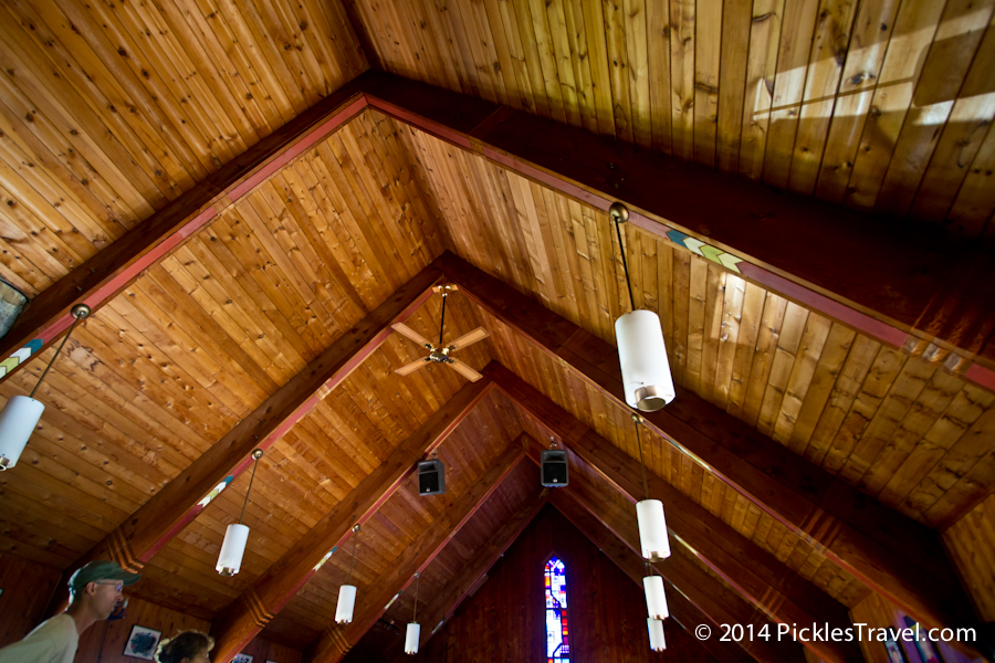 Exquisite wooden beam ceilings in Hovland