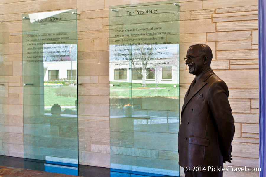 Harry S. Truman at Presidential Library