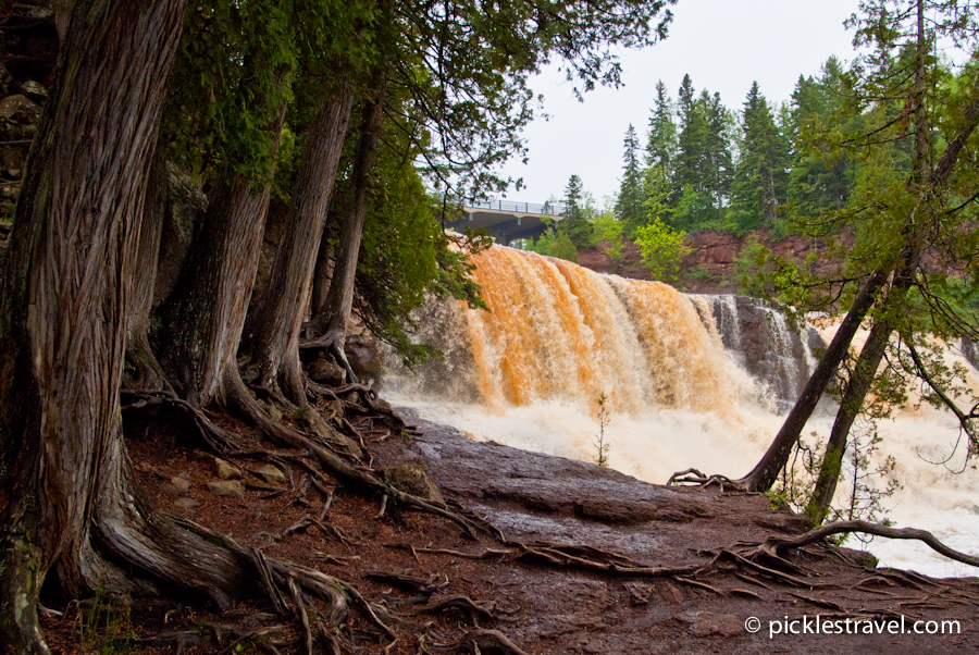 Gooseberry Falls in Northern MN