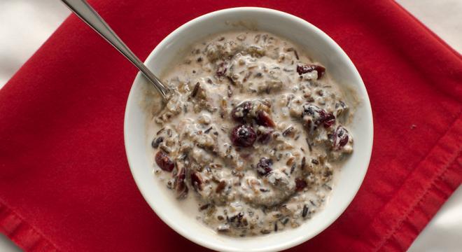 Wild Rice Porridge based off of Mahnomin Porridge from Hell's Kitchen