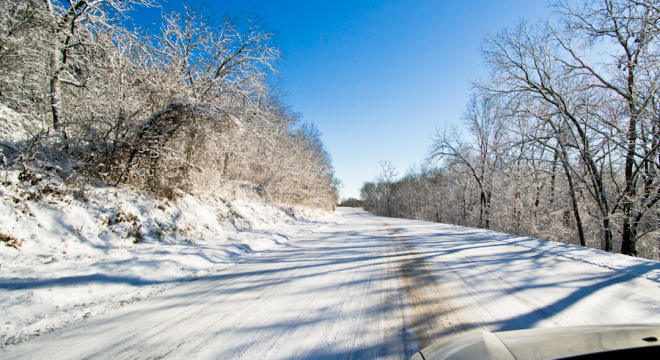 Drive the winter road with safety on your mind