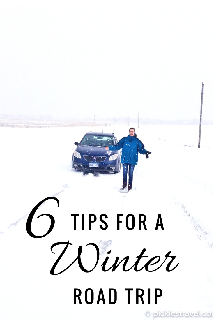 6 tips and essentials for planning your USA or Canada winter road trip- hint: plan for snow, ice and hiccups and it will all be part of the fun adventure!