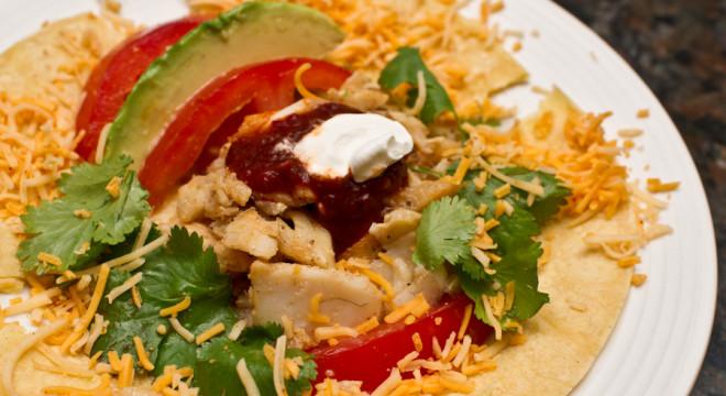 Walleye Fish Tacos or Taco Salad
