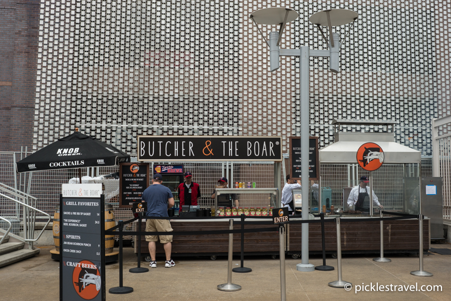 Butcher and the Boar at Target Field