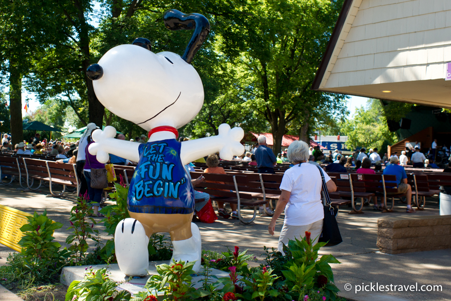 Snoopy at the State Fair