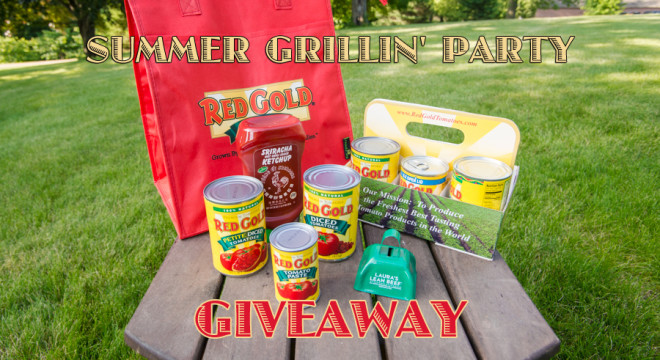 Red Gold Giveaway Summer Grillin' Party