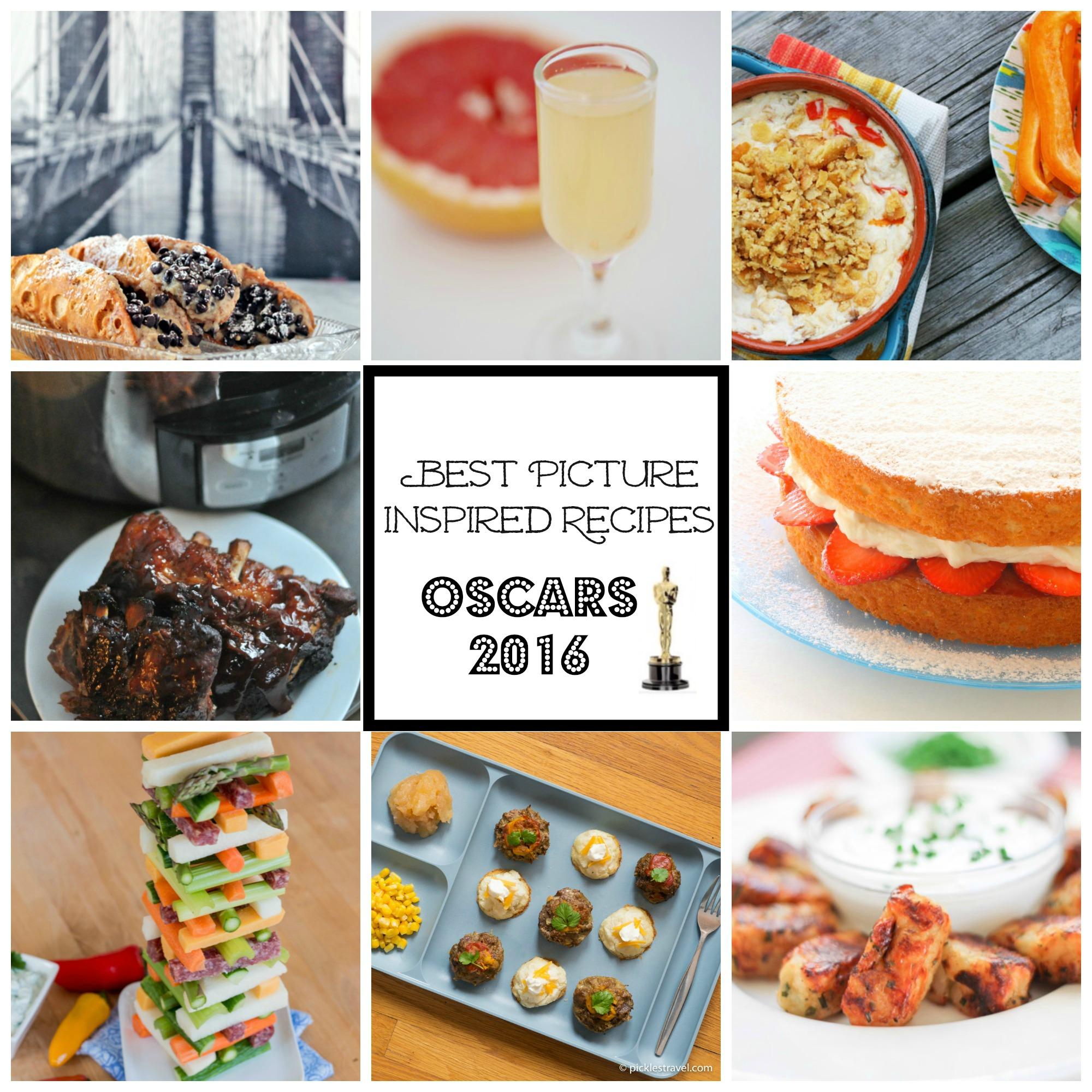 2016 Oscars Inspired Recipes