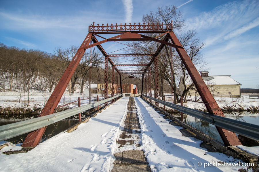 One of the oldest standing steel truss bridges in USA
