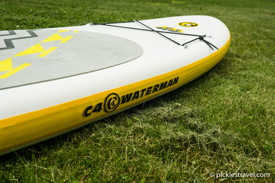 fully inflated C4 Waterman SUP