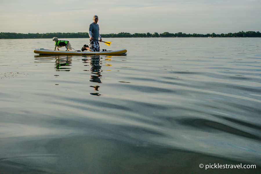 C4 Waterman Inflatable Paddle board campaign