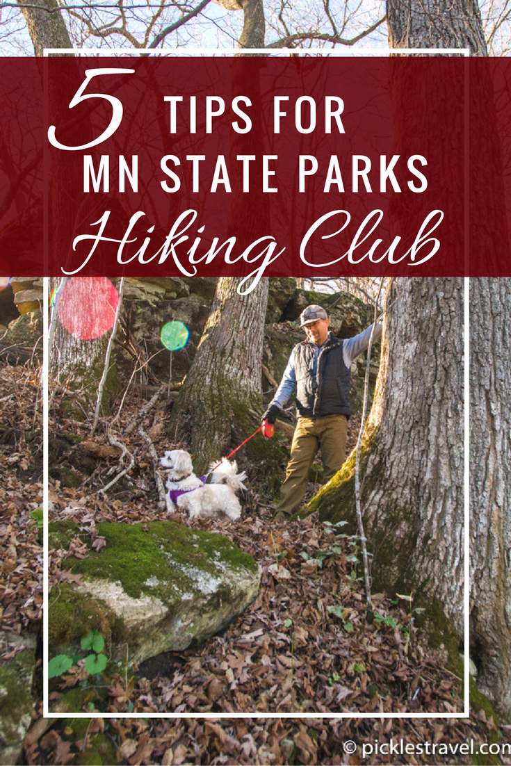5 trail Tips for making the most of the Minnesota State Parks hiking club which is great for beginners and advanced backpackers alike (with some trails even having backpack camping spots)