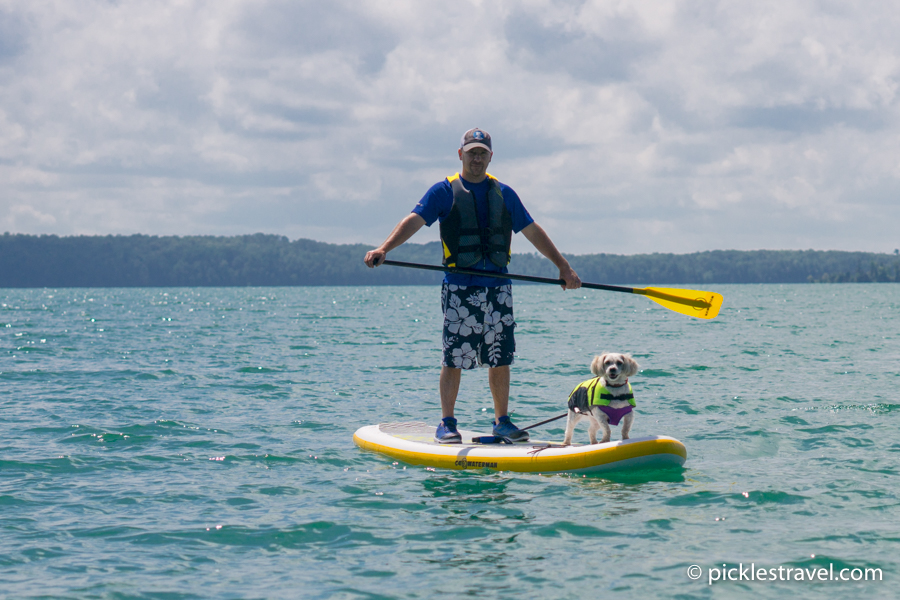 Everyone enjoys taking the C4 Waterman SUP out on the lake