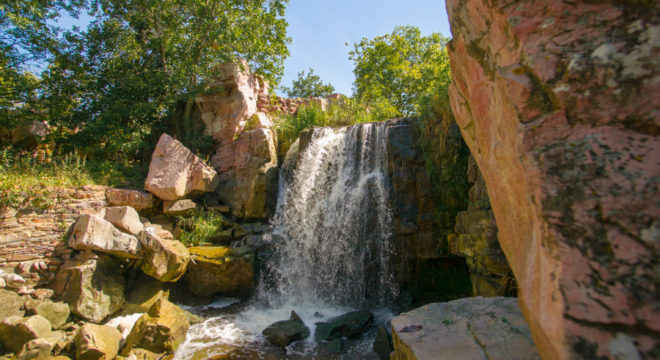 Winnewissa Falls - Pipestone National Monument
