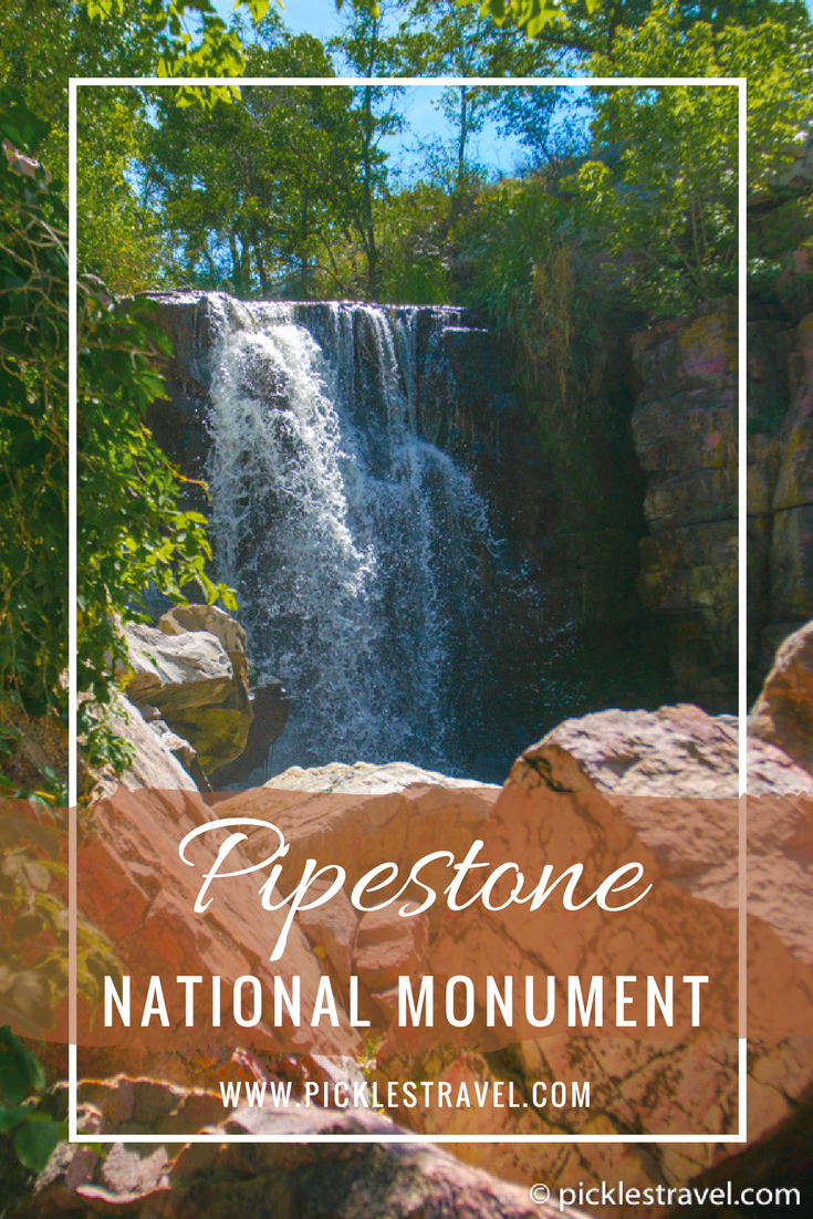 Pipestone National Monument in Minnesota USA is one of the best tourist destinations in Southern MN and the perfect weekend road trip from the Twin Cities. The hiking trail makes it a great place to explore with kids