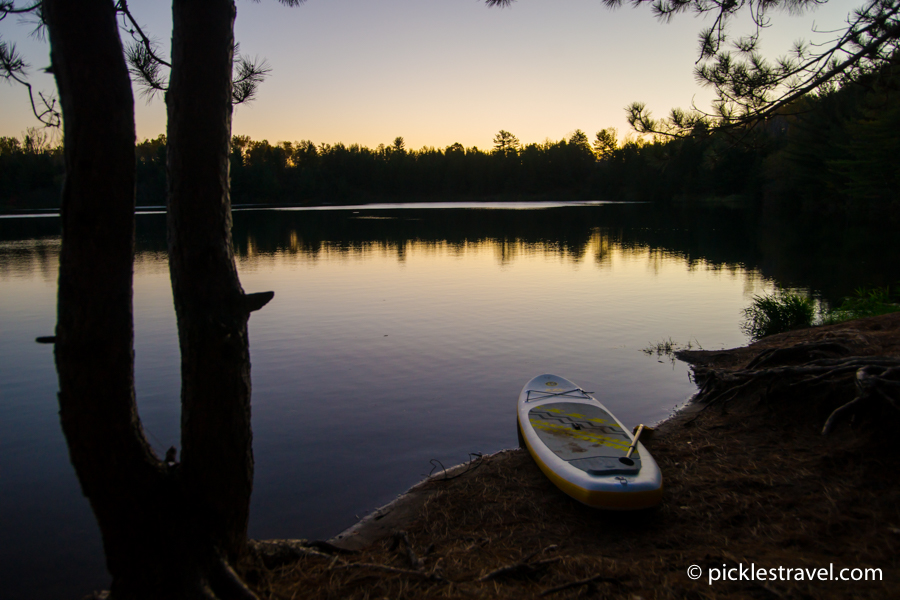 perfect sup setting mn state parks