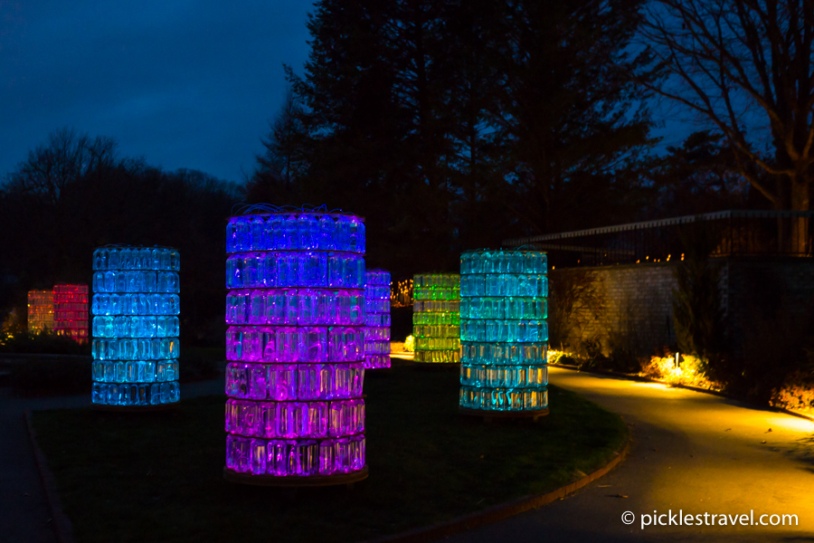 Water Towers by Bruce Munro
