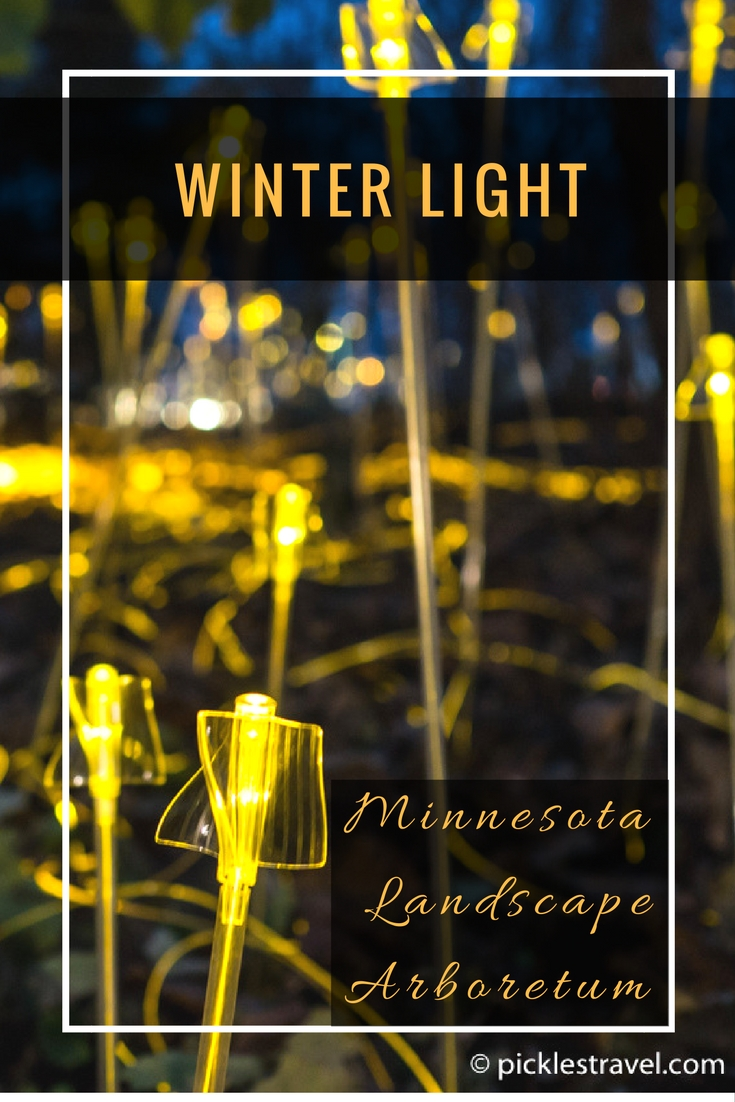 Bruce Munro's Winter Lights display is a Christmas photography wonderland for snow, vibrant colors and bokeh