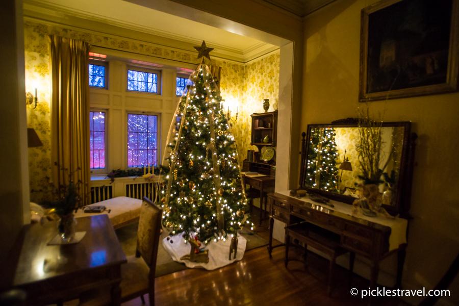 Stunning Christmas Tree at Glensheen Mansion