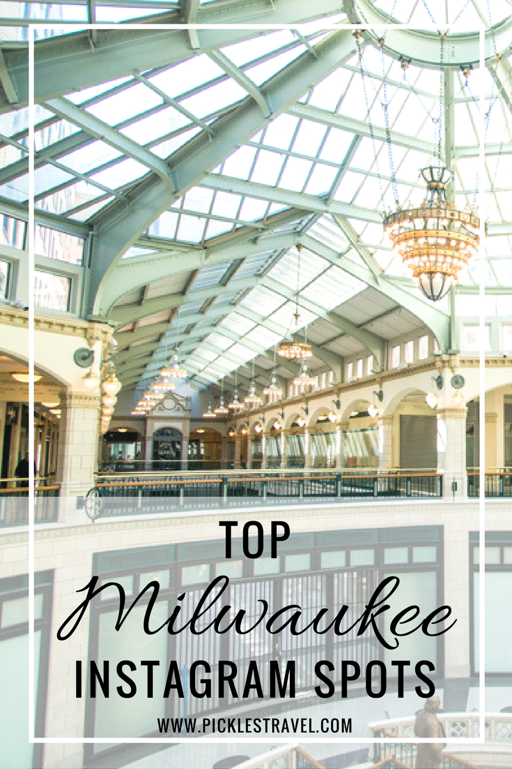 The most photo worthy spots in Milwaukee that are perfect for showing off your Wisconsin trip on Instagram and highlighting all the picturesque spots in this midwest town. Plus finding all the locations can be a fun thing to do for the whole family