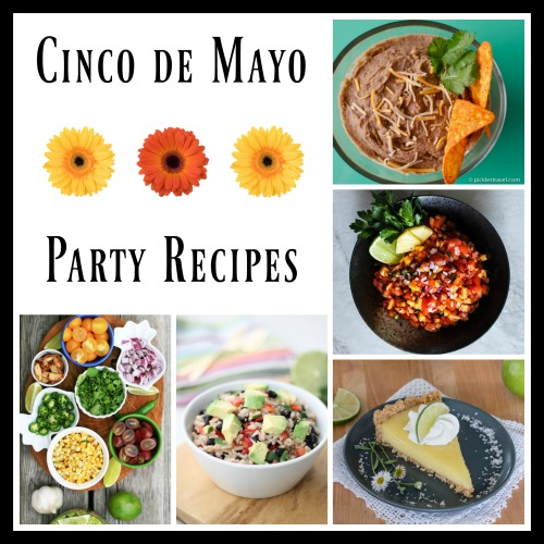 Cinco de Mayo appetizer party recipes