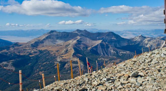 Mountains of Big Sky Montana