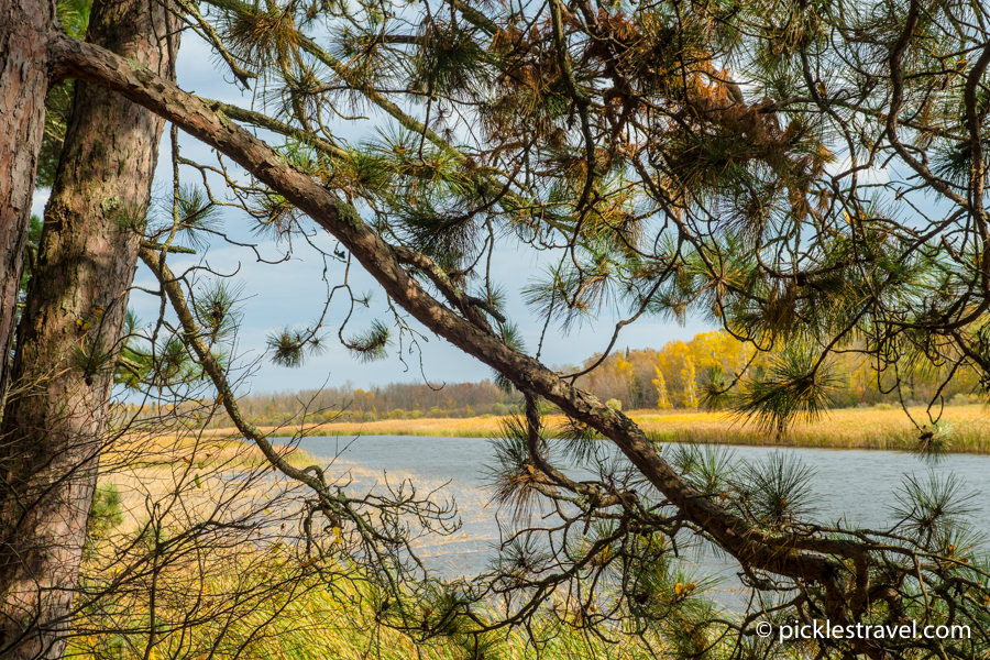 Schoolcraft State Park an easy drive from Grand Rapids MN