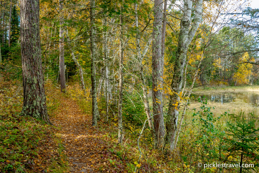 Hiking Club Trail at Schoolcraft State Park