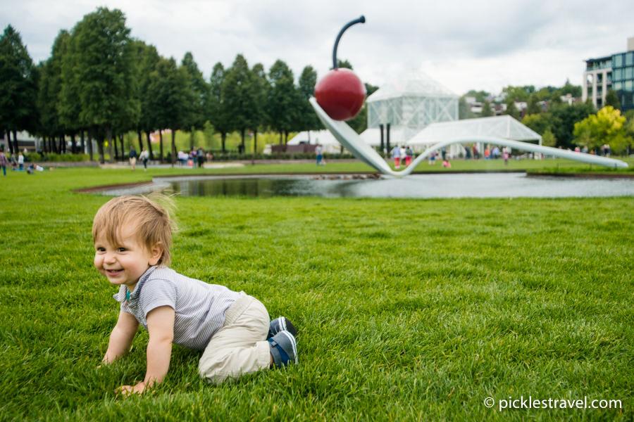 family friendly Minneapolis Sculpture Garden