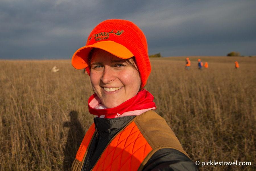 Pickles Travel blog goes to the Governor's Pheasant Opener hunting