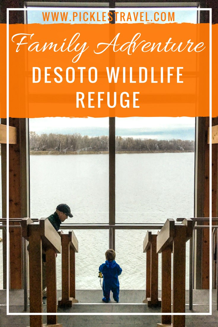 Family outdoor Adventure on the midwest border of Iowa and Nebraska in Desoto National Wildlife Refuge. The perfect field trip and road trip destination for the traveling family.