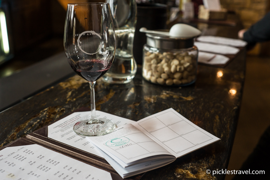 Collect Stamps at each wine tasting with the MN Winery Passport